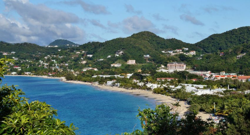 grand ase beach in grenada