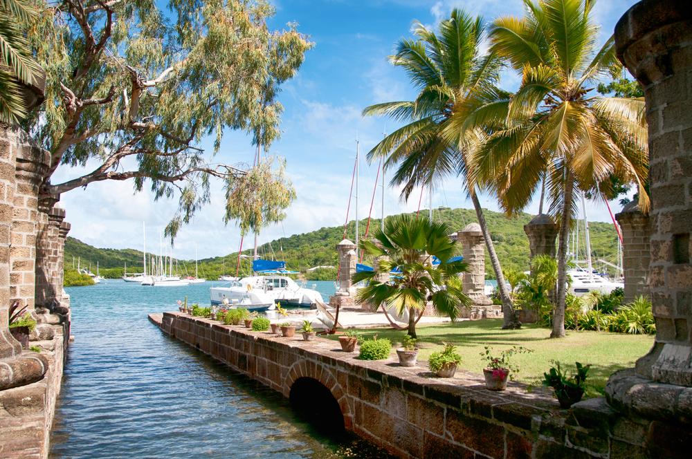 harbour in antigua