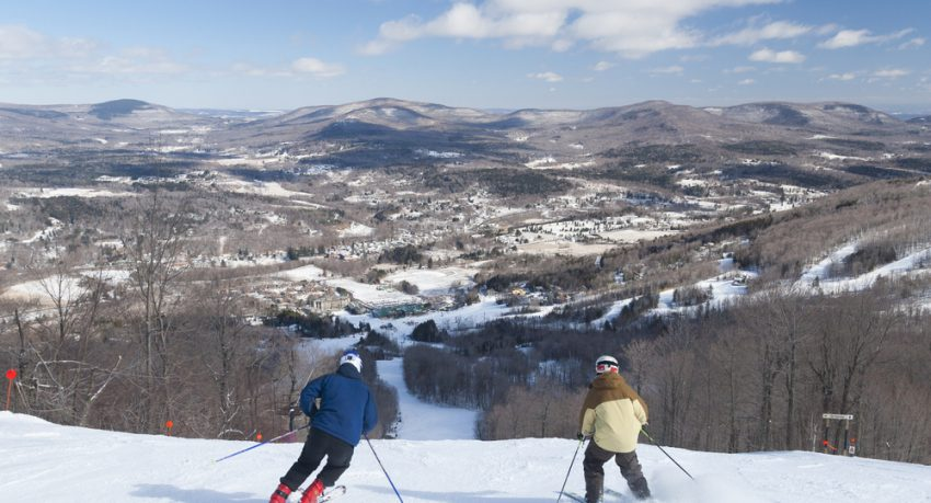 windham mountain ski slope near new york