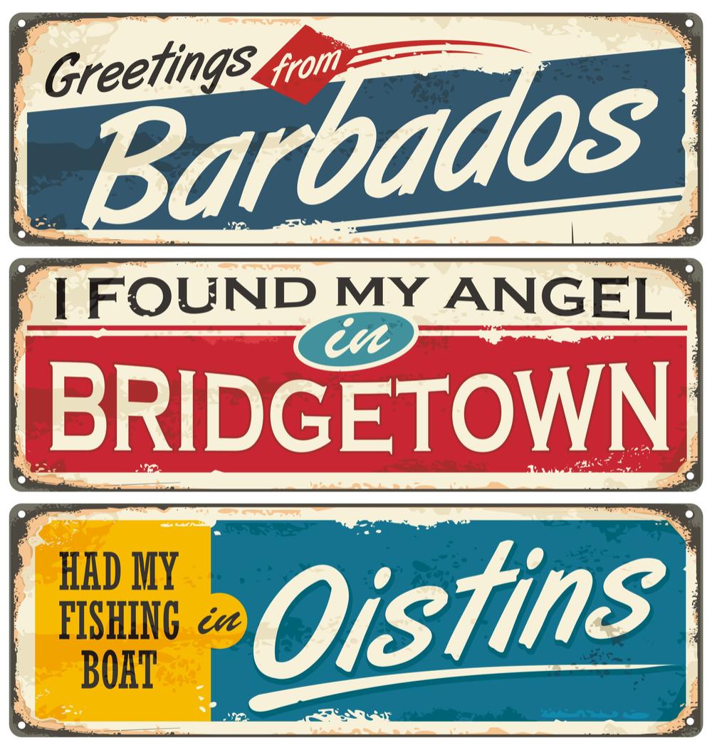 barbados art souvenir