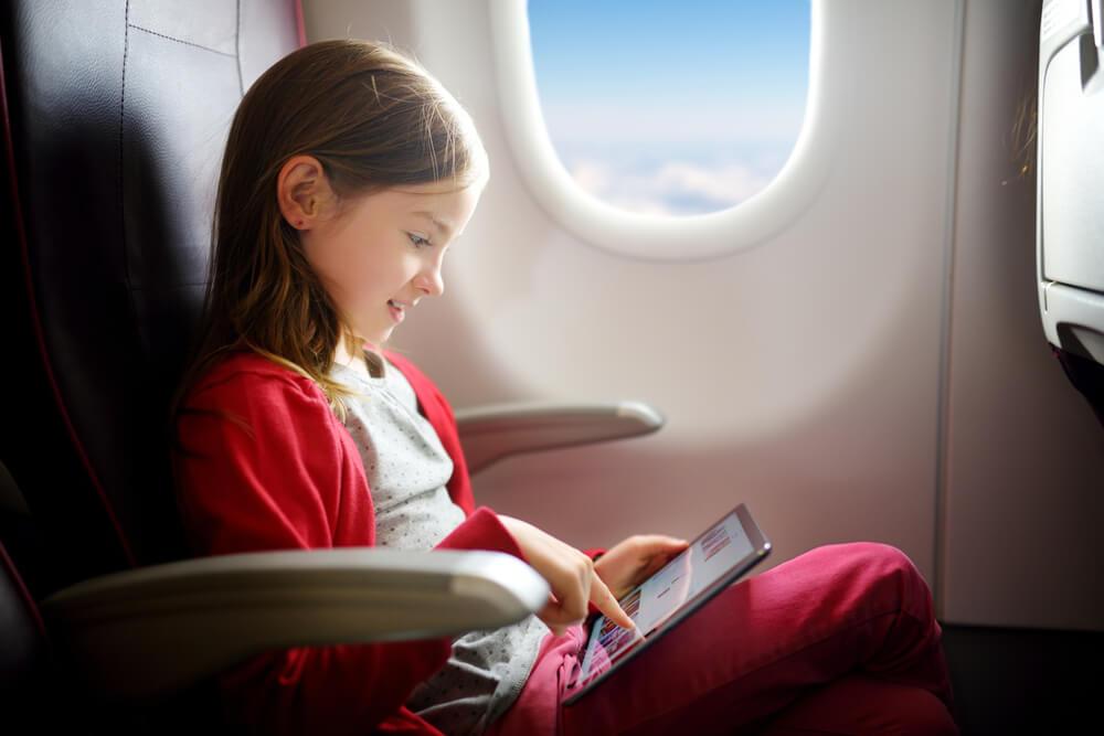 entertainment on a long haul flight