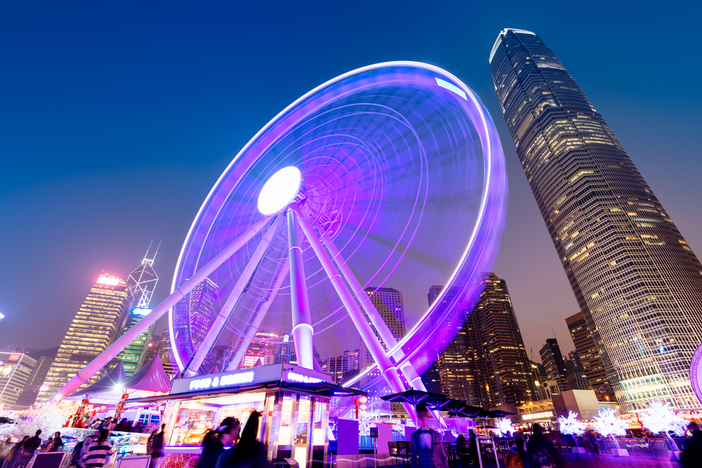 honk kong observation wheel
