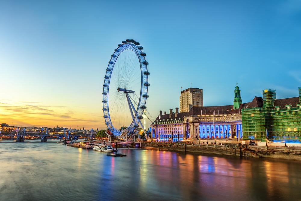 london eye observation wheel