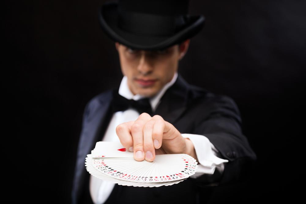 magician in las vegas