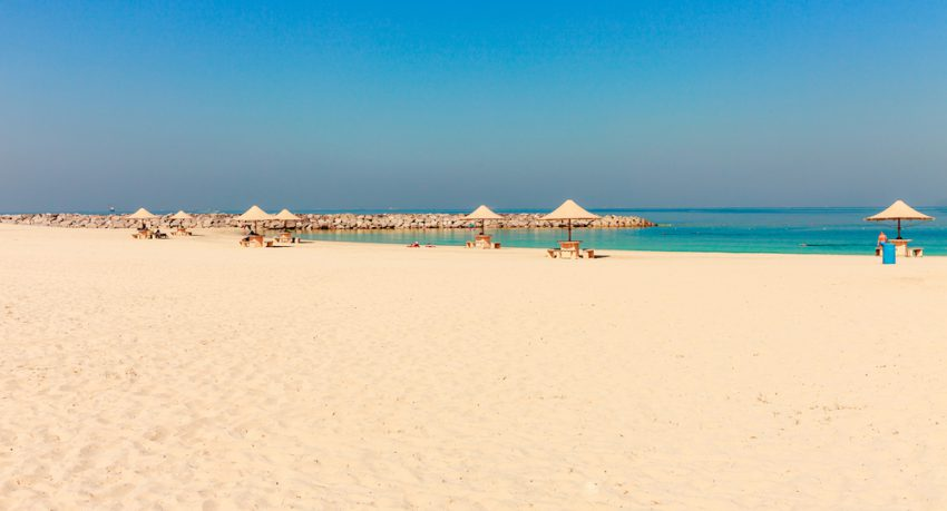mamzar beach in dubai