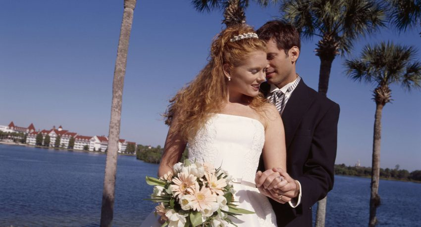 married at disney world