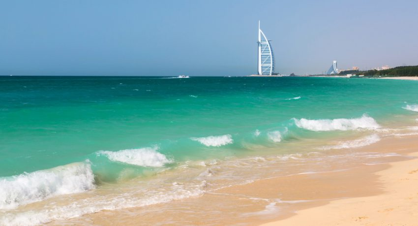 public beach in dubai