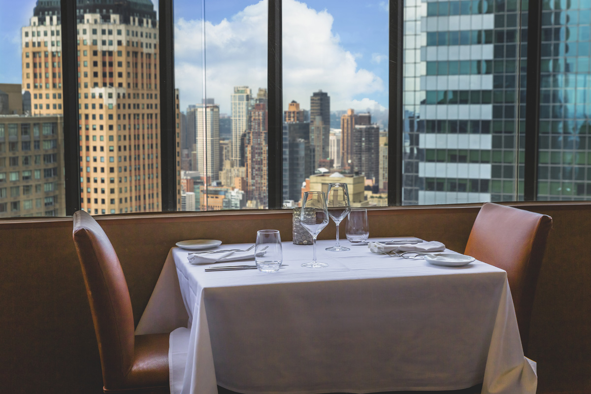dining view New York