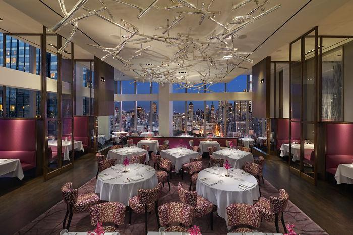 Asiate restaurant in new york