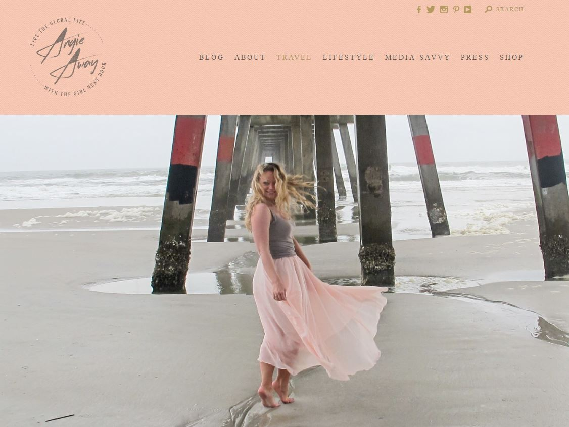 angie away blog