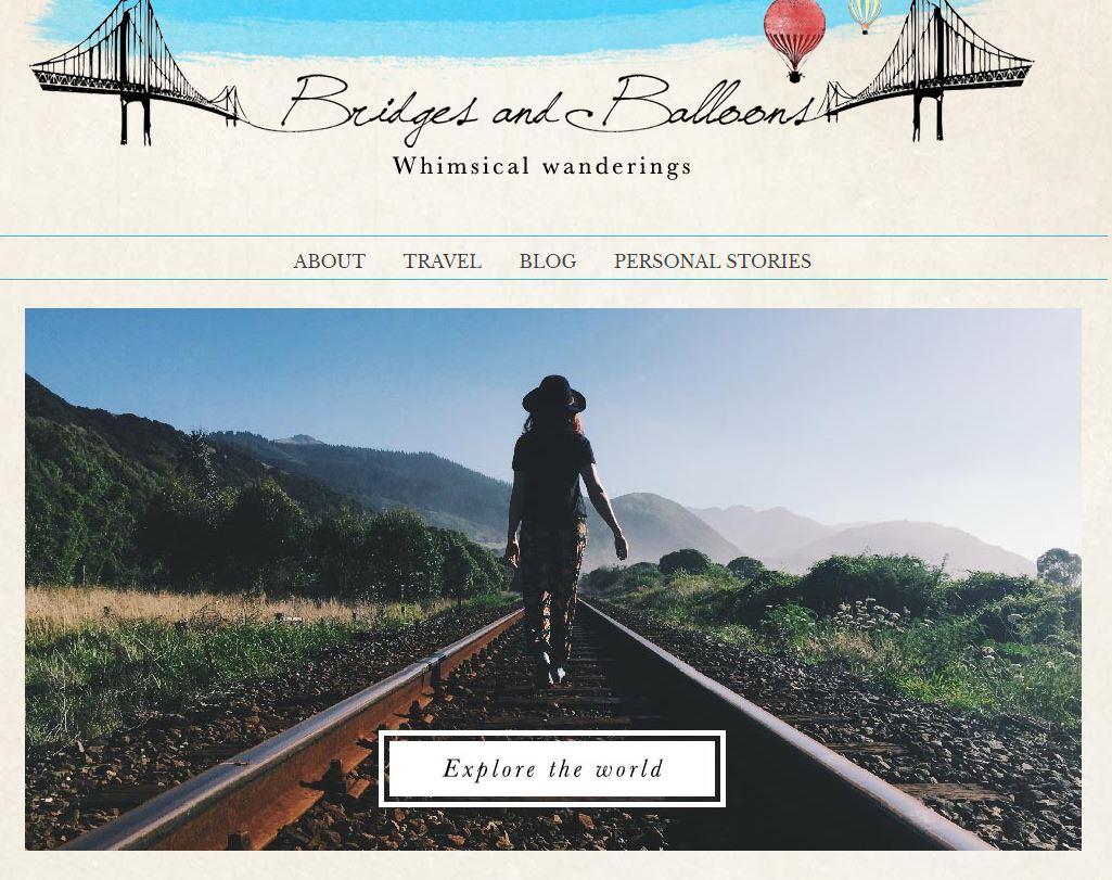 bridges and balloons blog