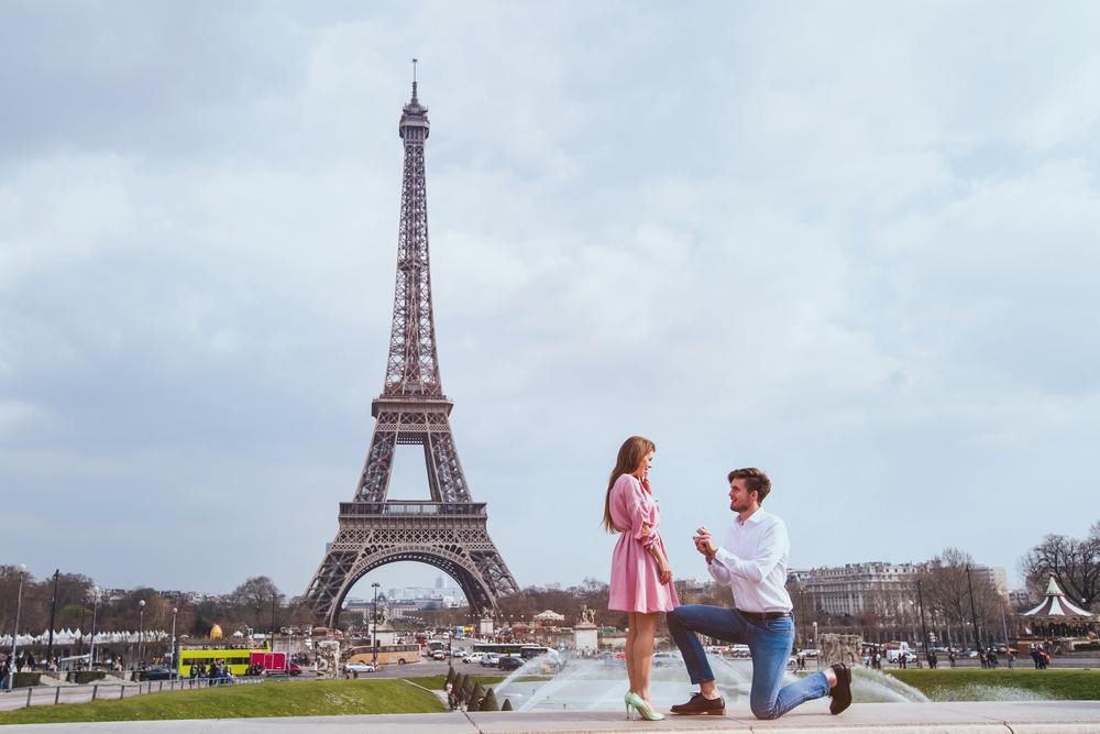proposing in paris