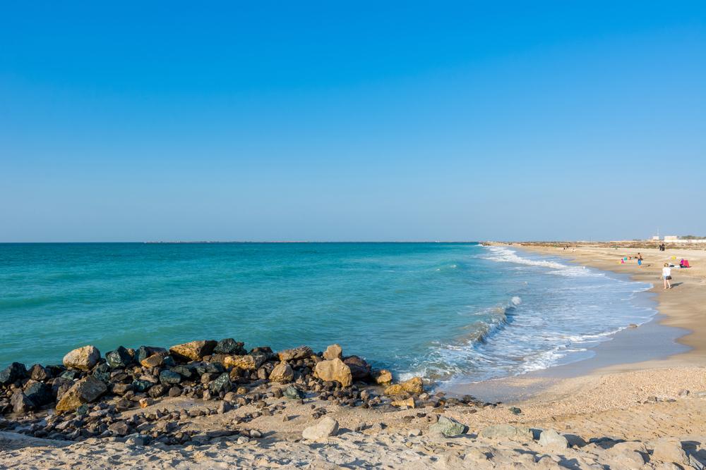 beach at ras al khaimah