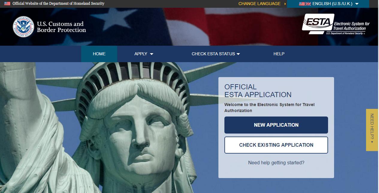 Applying for an ESTA