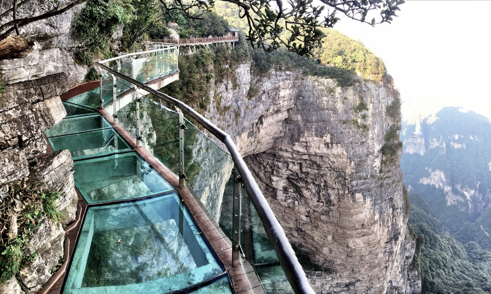 tianzi china places mountain unusual glass weird mountains bridge around walk cliff locations coiling dragon nature skywalks faith turkey holidaygenie