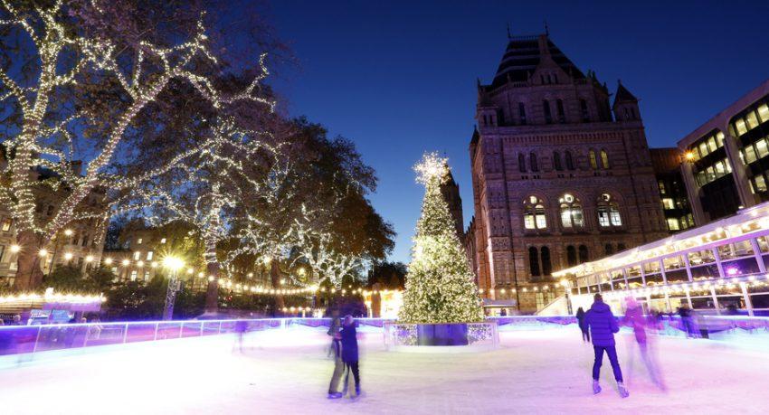 ice ring at christmas