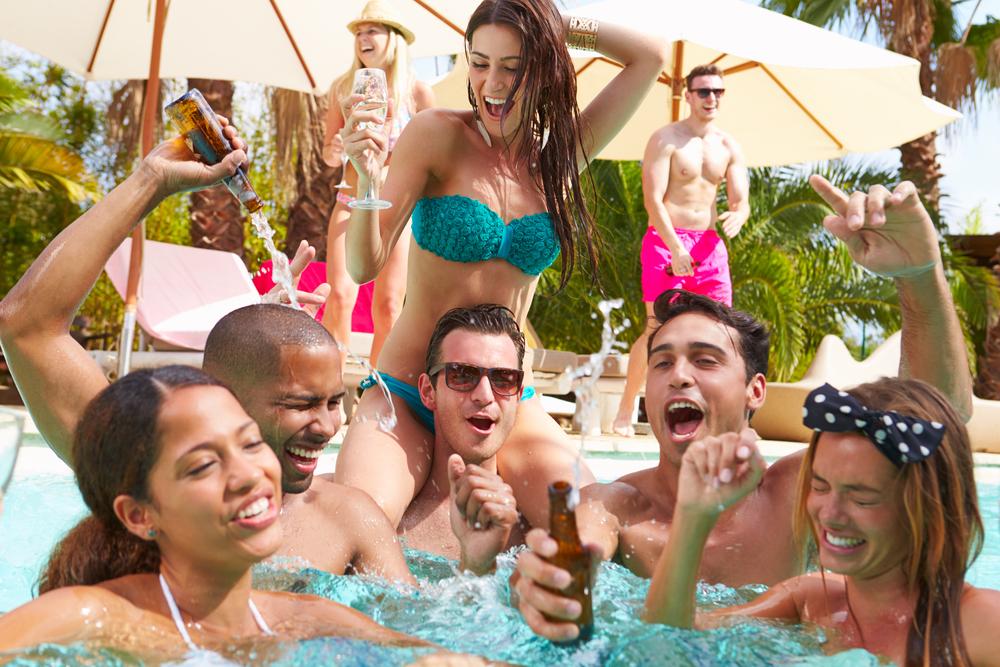 pool party in las vegas