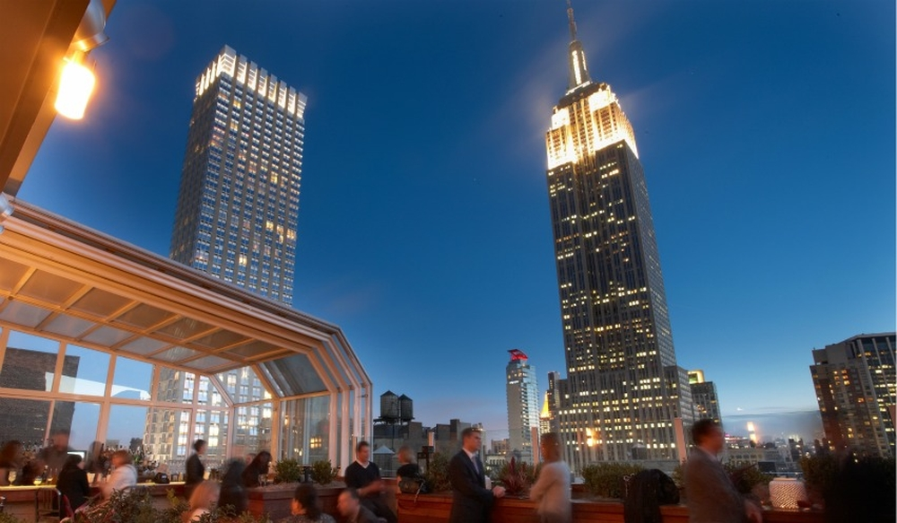 Best Rooftop bars with a view of New York by Holiday Genie