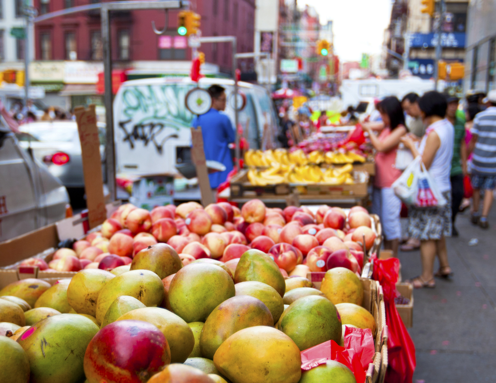 food market in new york